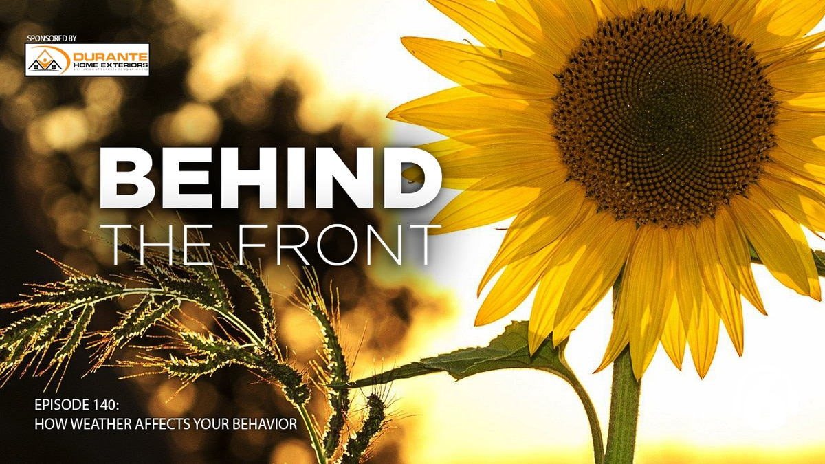 Behind the Front: How weather affects your behavior
