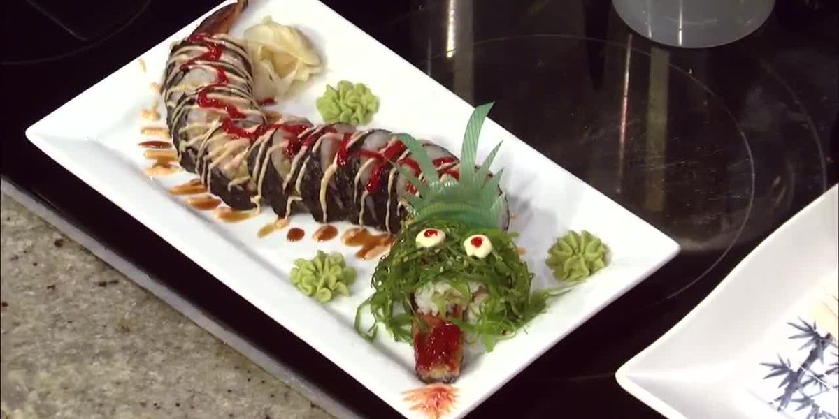 Taco Tech: Black Dragon sushi roll