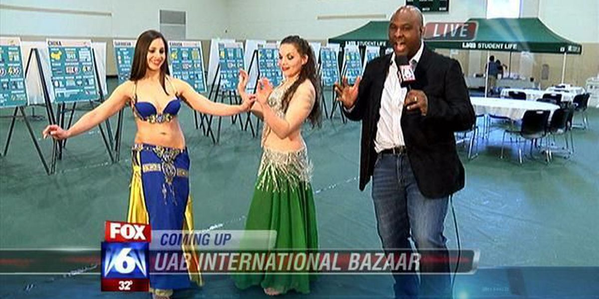 'Bazaar' foods, bellydancing and more today at UAB