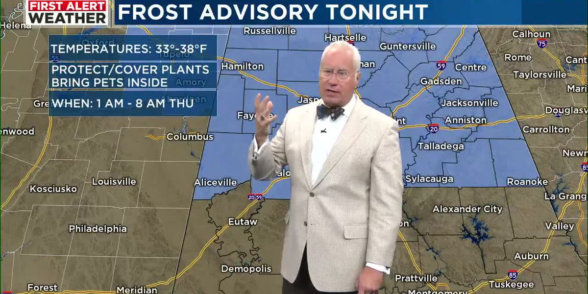 First Alert Weather: 5 a.m. update 4-21-21