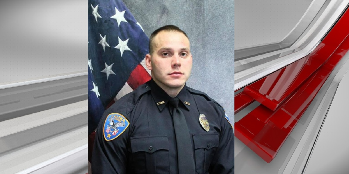 Calera police officer dies of natural causes
