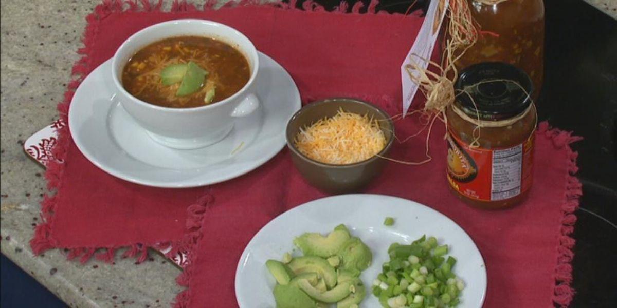 Salsa Senorita tortilla soup