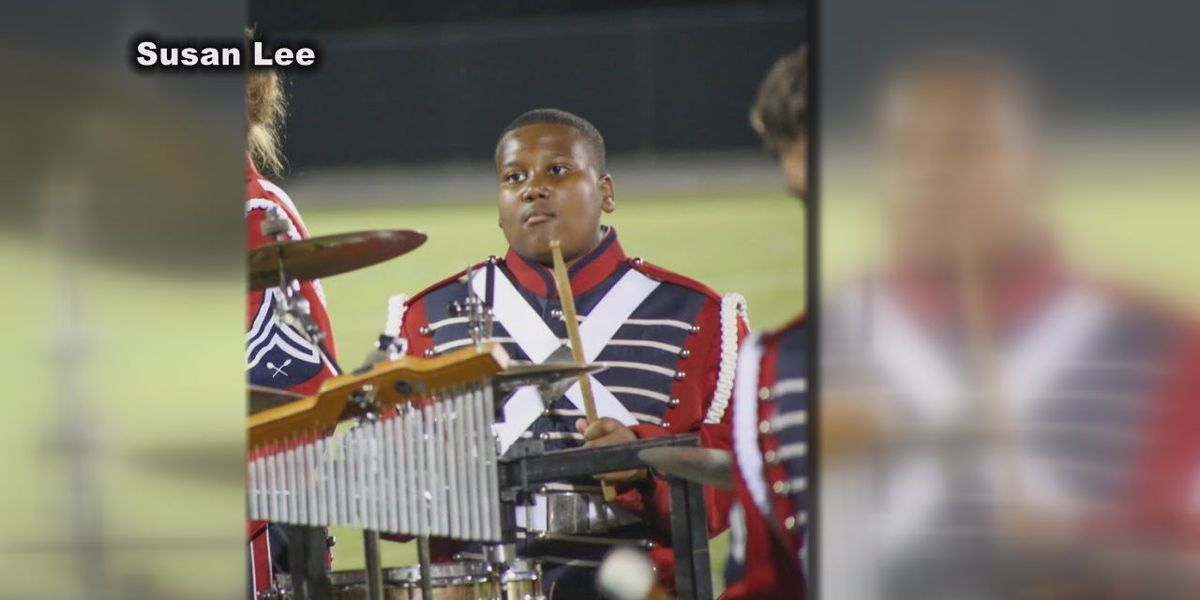 Band members of fallen police sergeant's son raise money for grieving family