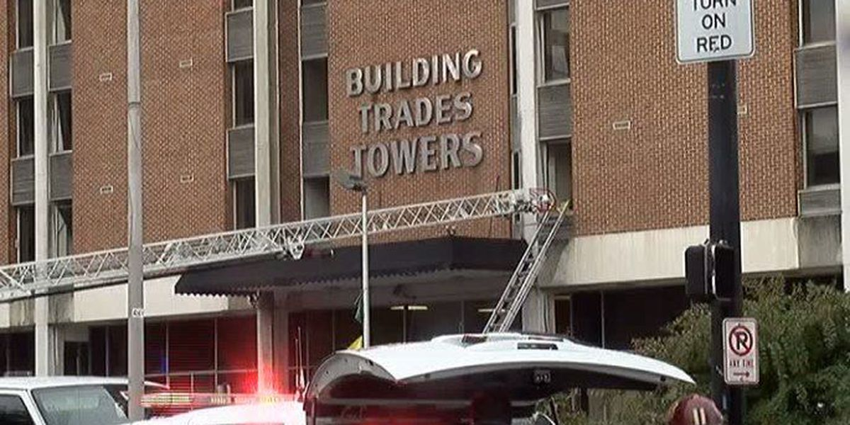 Resident clinging to life after apartment fire