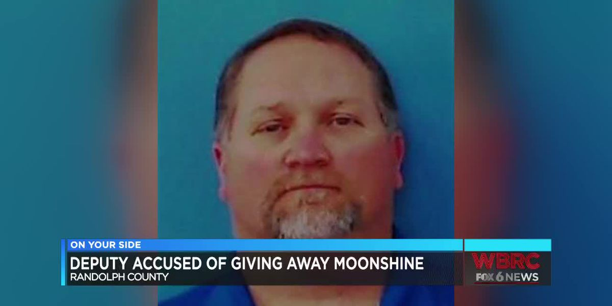 Randolph Co. deputy accused of giving away moonshine