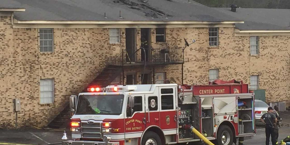 Center Point apartment fire affects 16 units