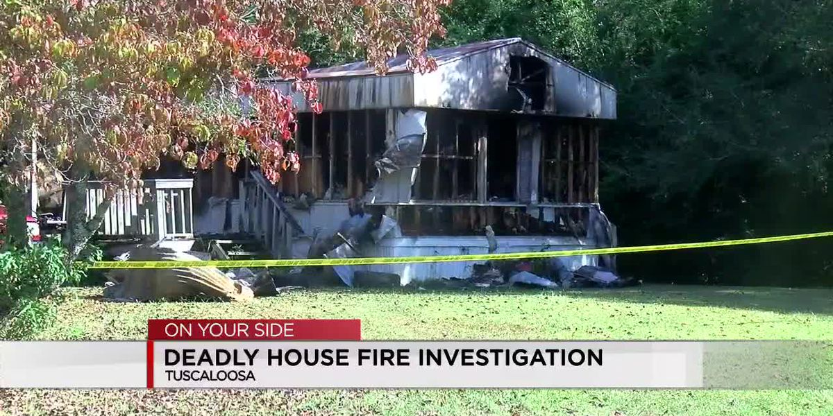 Deadly Tuscaloosa house fire under investigation
