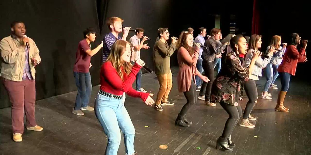 Vestavia Hills High School Just Singin' group choir is making history
