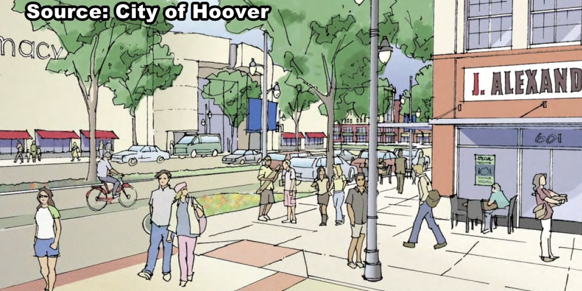 Discussions to make Riverchase Galleria a city center