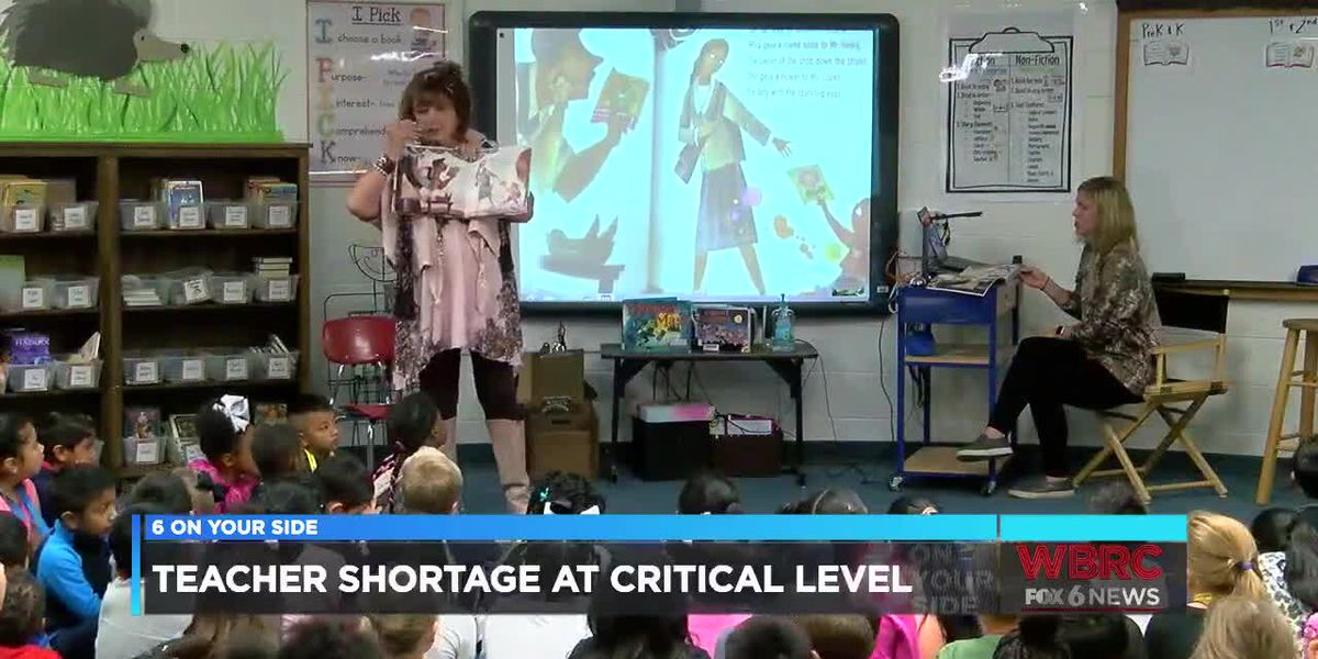 Teacher shortage at critical level
