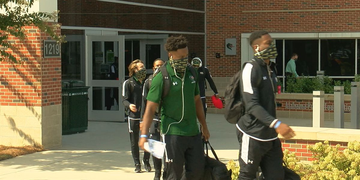 UAB football leaves for Miami