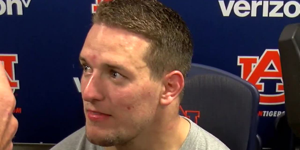 Chandler Cox speaks after Auburn's loss to LSU