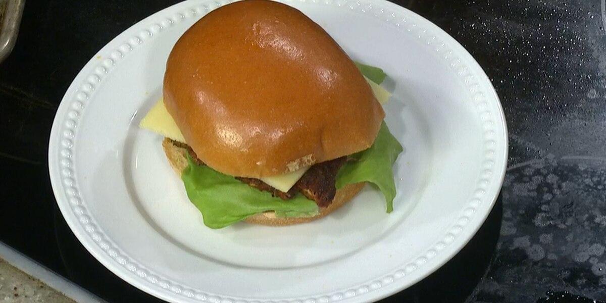 Dak's: Blackened Chicken Sandwich