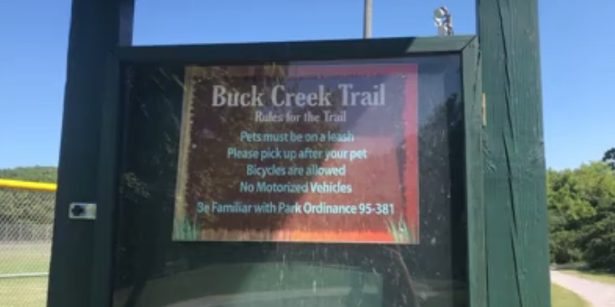 New sensory trail at Buck Creek Park in Alabaster