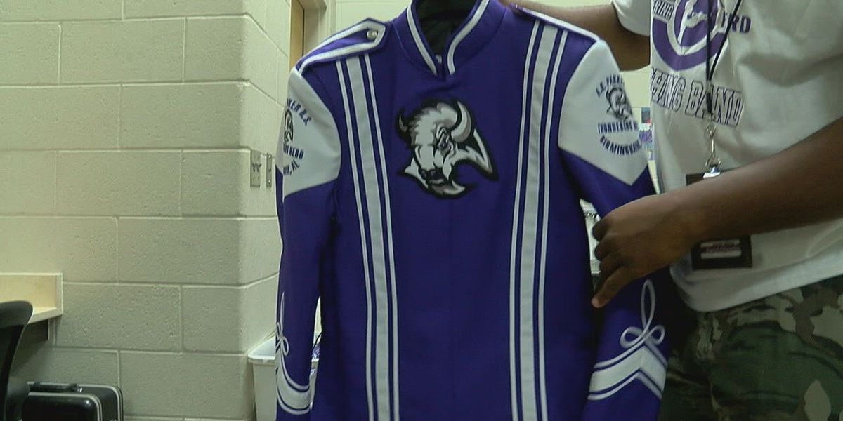 Parker HS band students 'ecstatic' to show off new uniforms