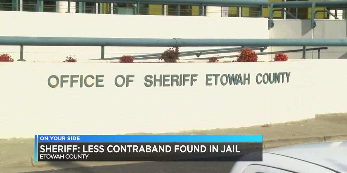 Etowah Co. Sheriff: Less contraband found in jail