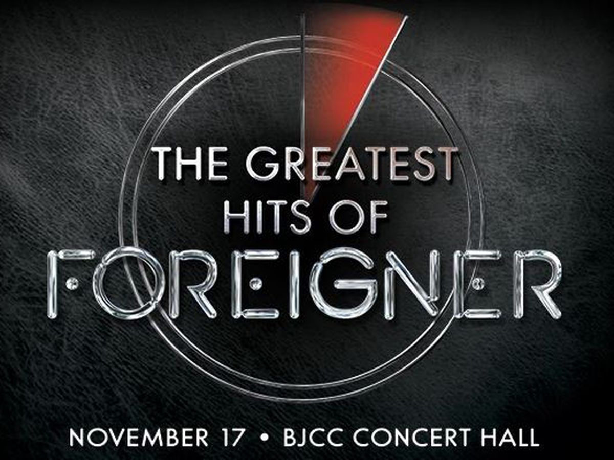 Foreigner coming to BJCC Concert Hall