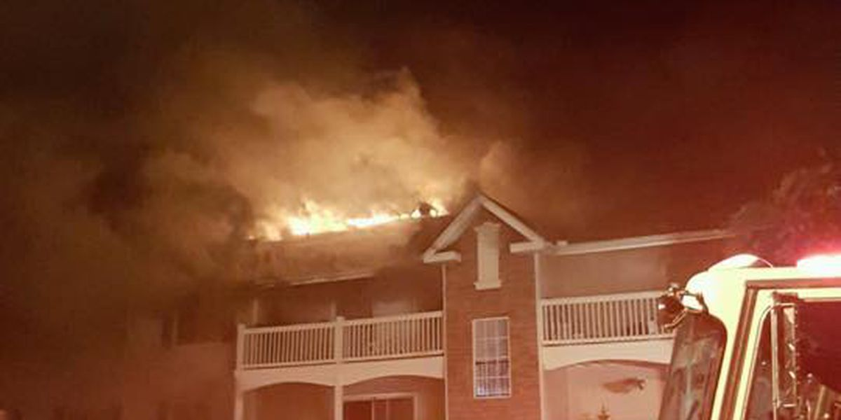 Massive Hoover fire displaces 50; Details at 7 a.m.
