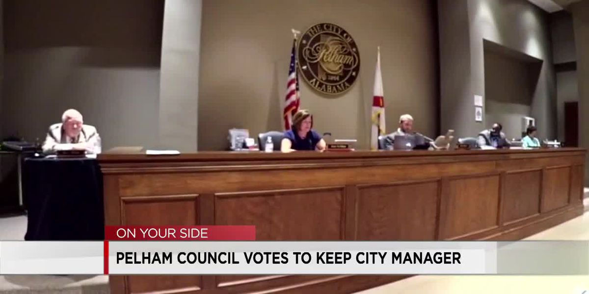 Pelham council votes to keep city manager