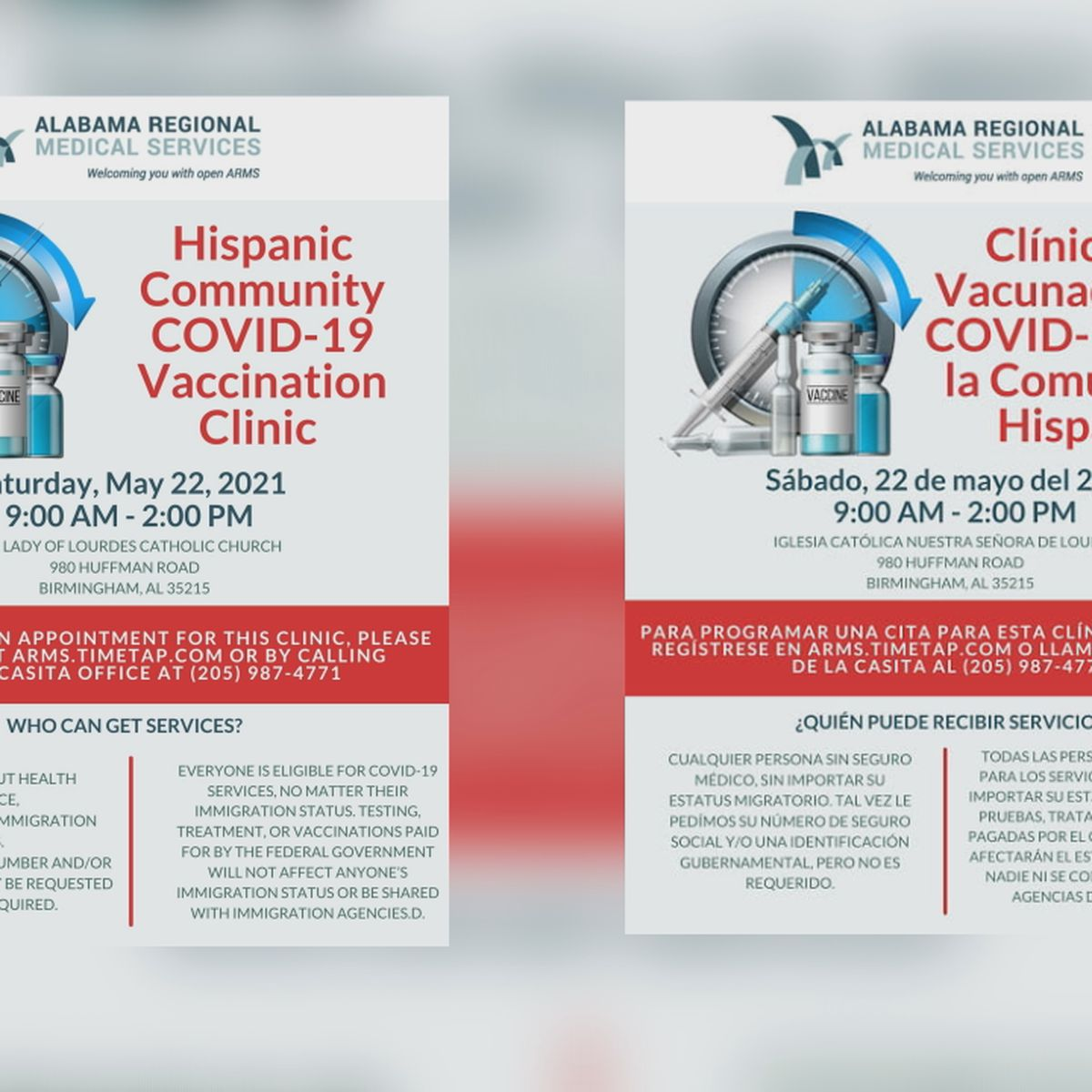 AL Regional Medical Services offering incentives to Hispanic community to get COVID-19 vaccine