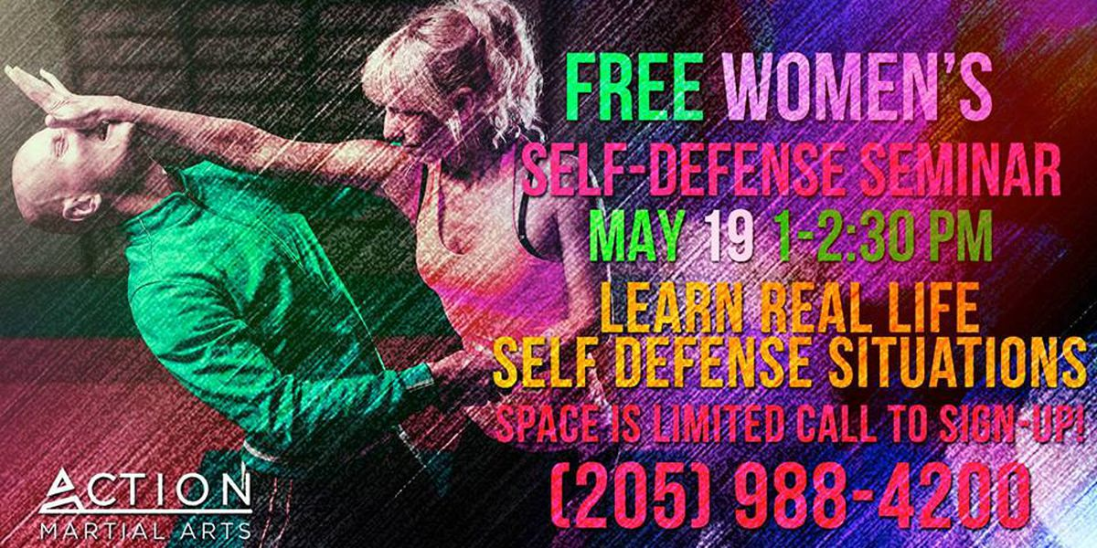 Action Martial Arts offering free women's self-defense class