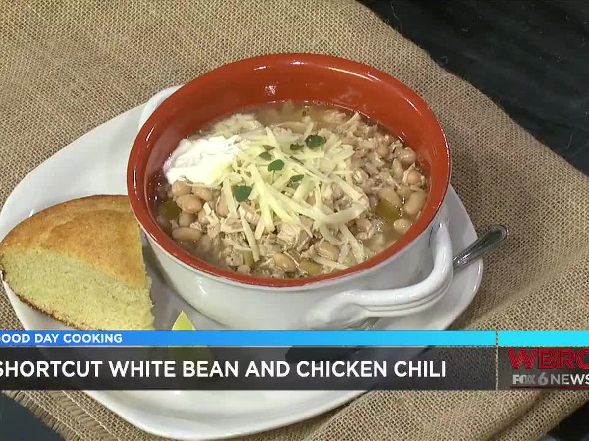 Grits and Gouda: Shortcut White Bean and Chicken Chili
