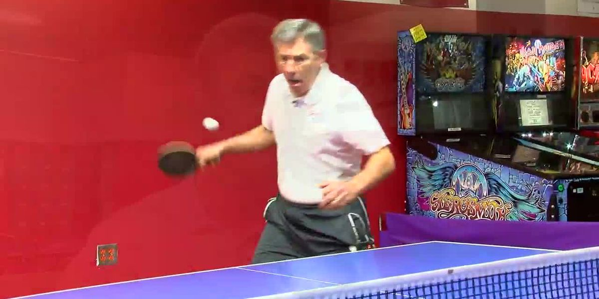 VIDEO; Homer Brown Table Tennis