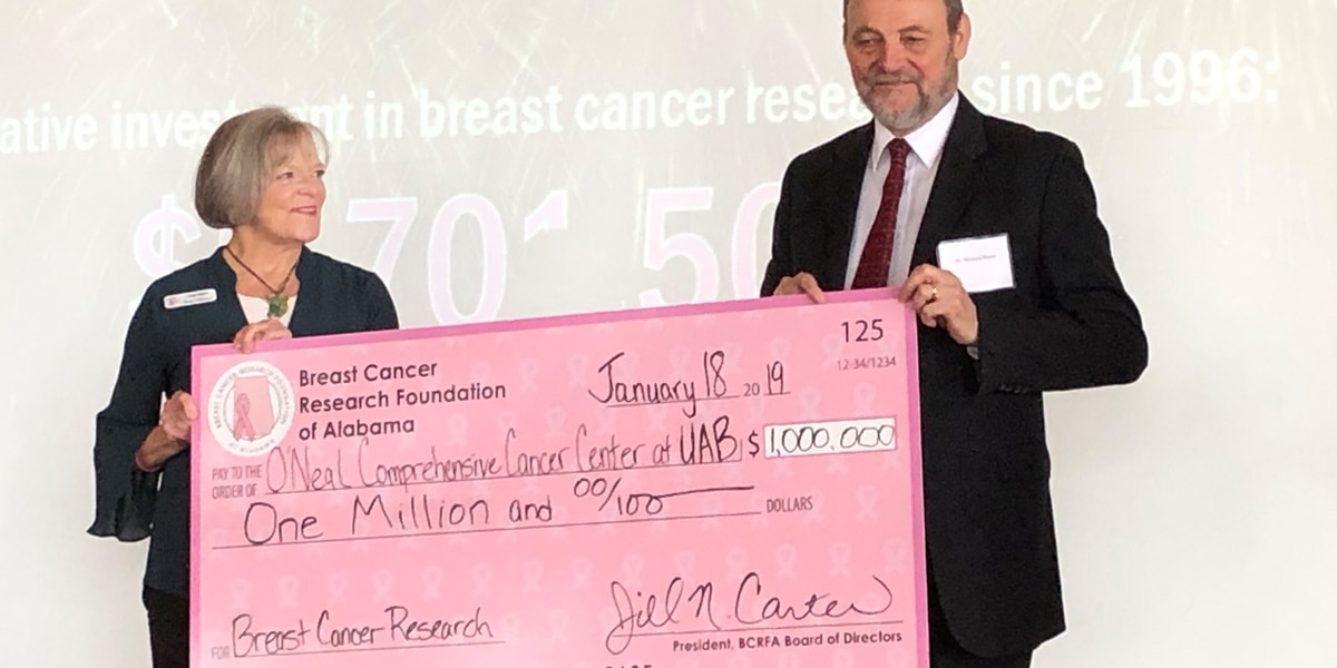UAB cancer center receives $1 million donation to fight breast cancer