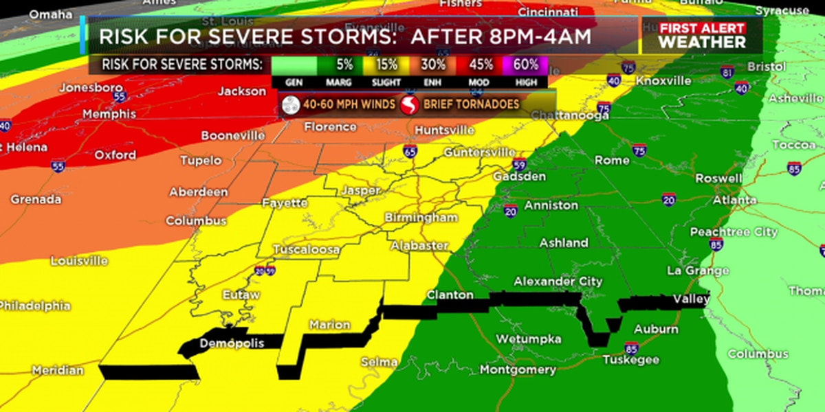 Adamsville to open storm shelter Tuesday night