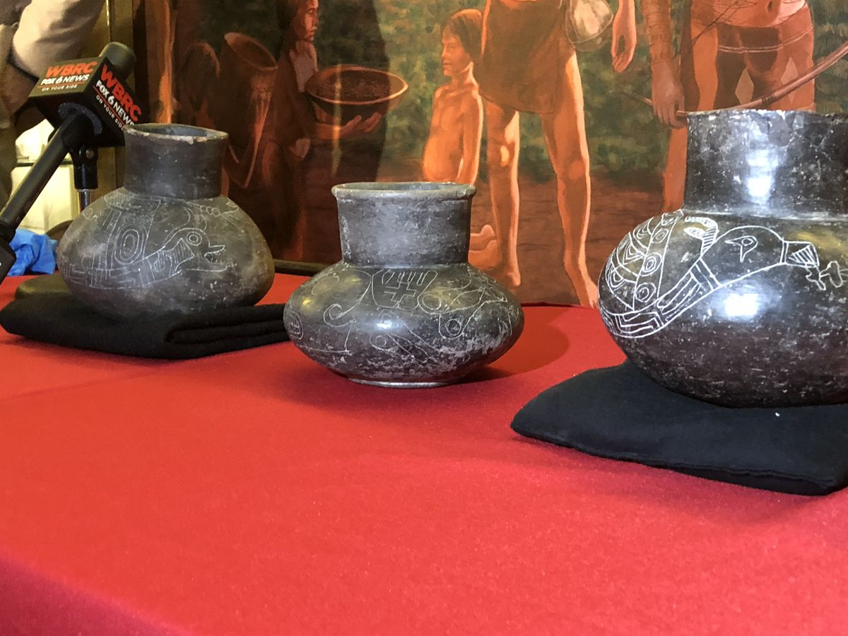 Several stolen Native American artifacts returned to Moundville Archeological Park