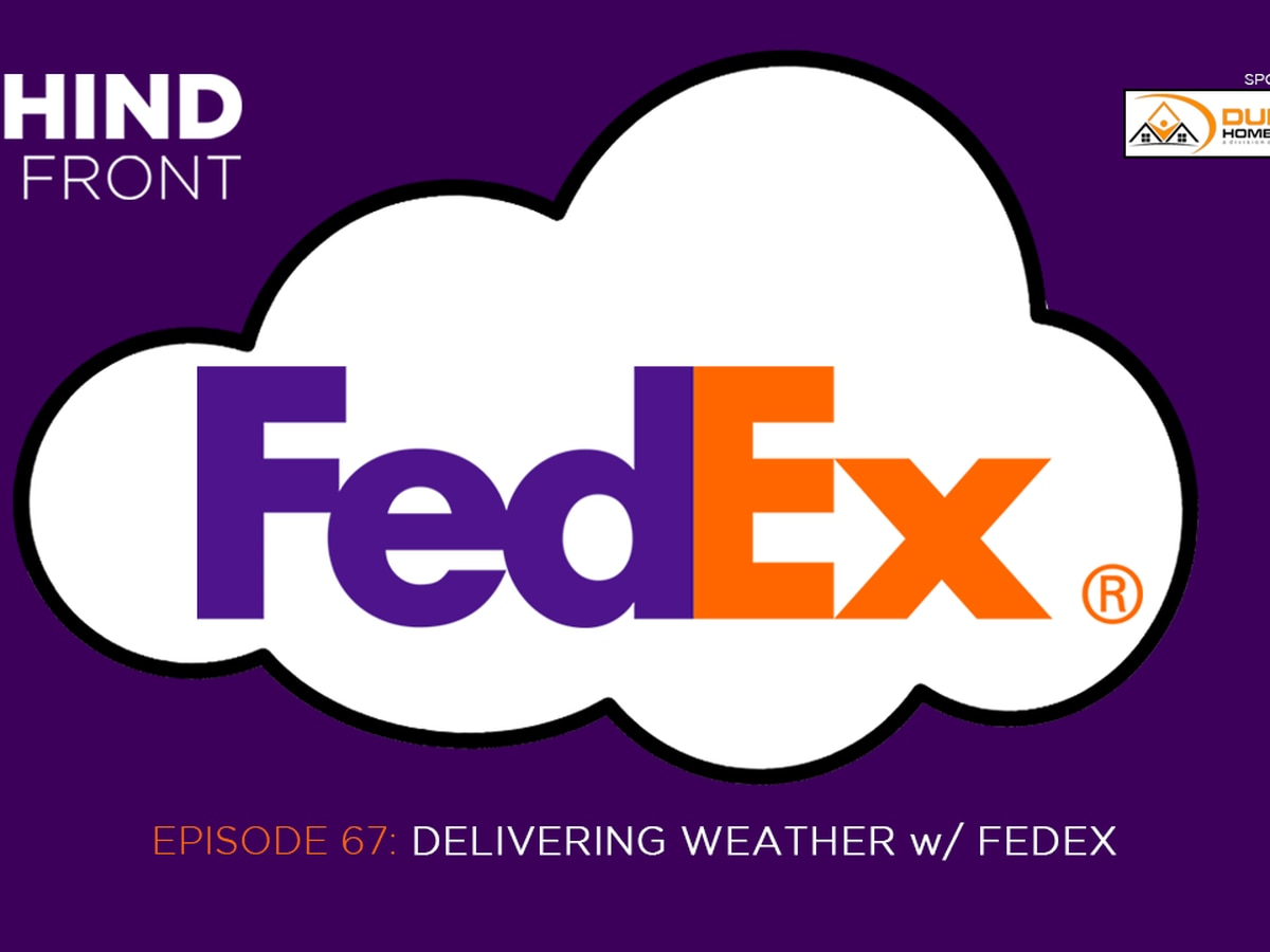 Behind the Front: Delivering Weather with FedEx
