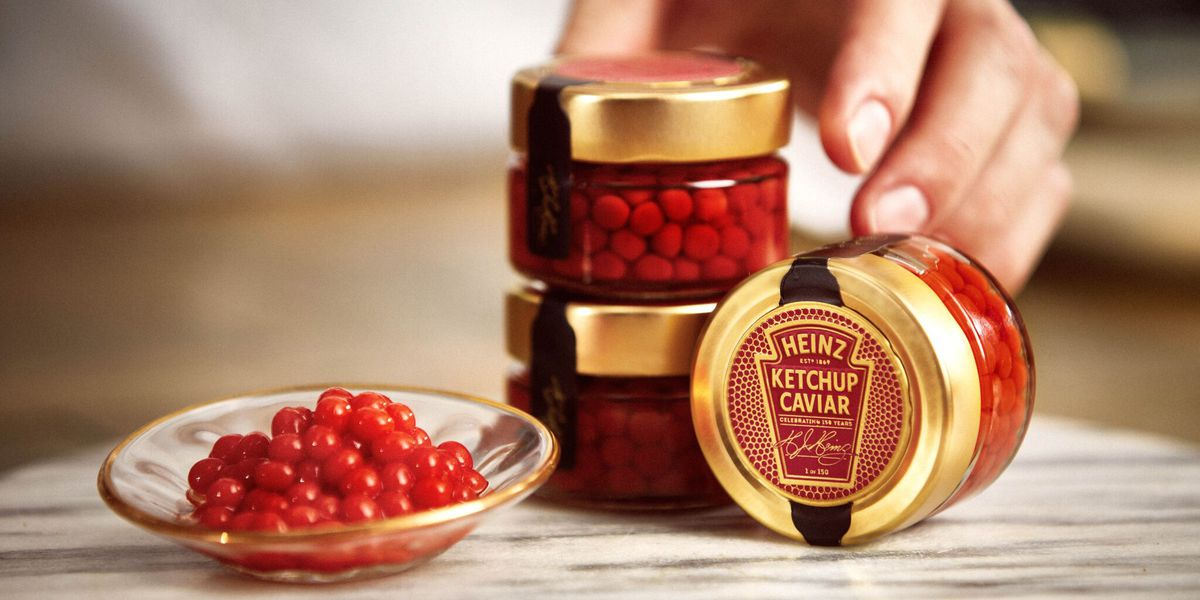 Ketchup Caviar - something you didn't know you wanted for Valentine's Day