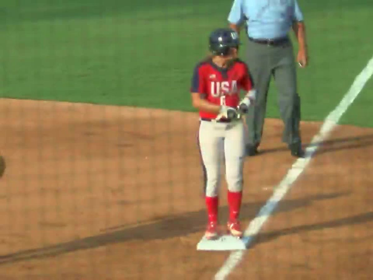 Alabama's Haylie McCleney is one of the world's best softball players