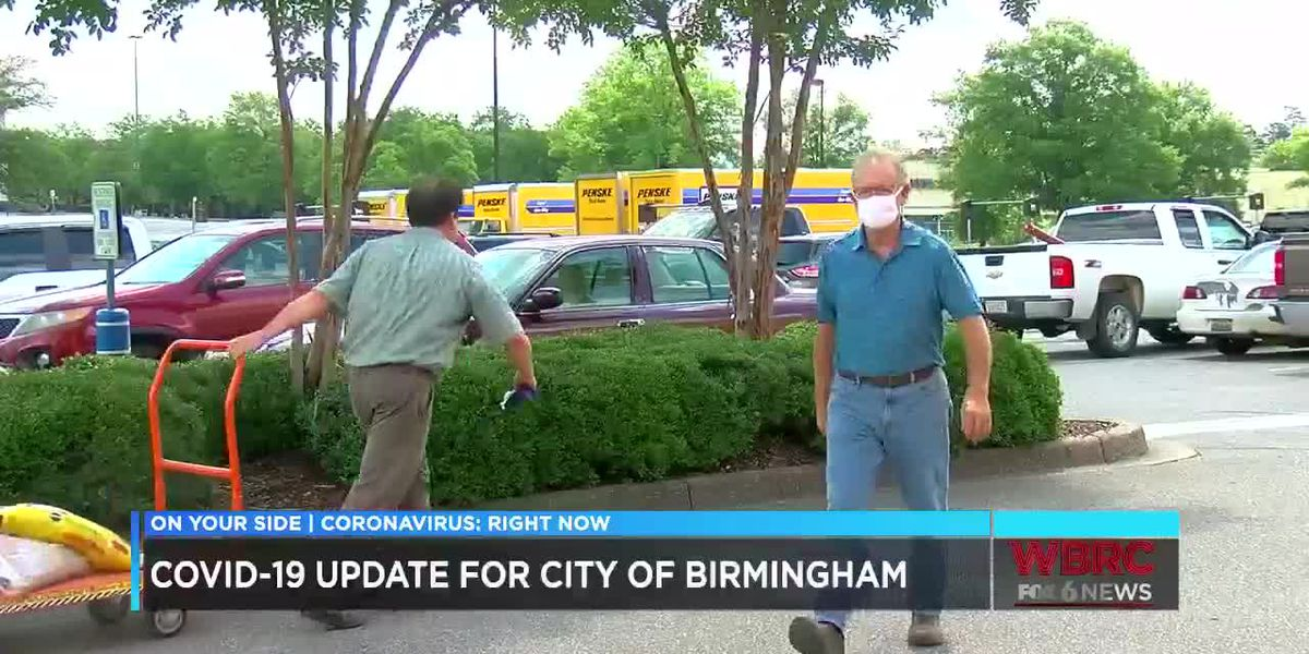 Mayor Woodfin speaks on COVID-19 update in Birmingham