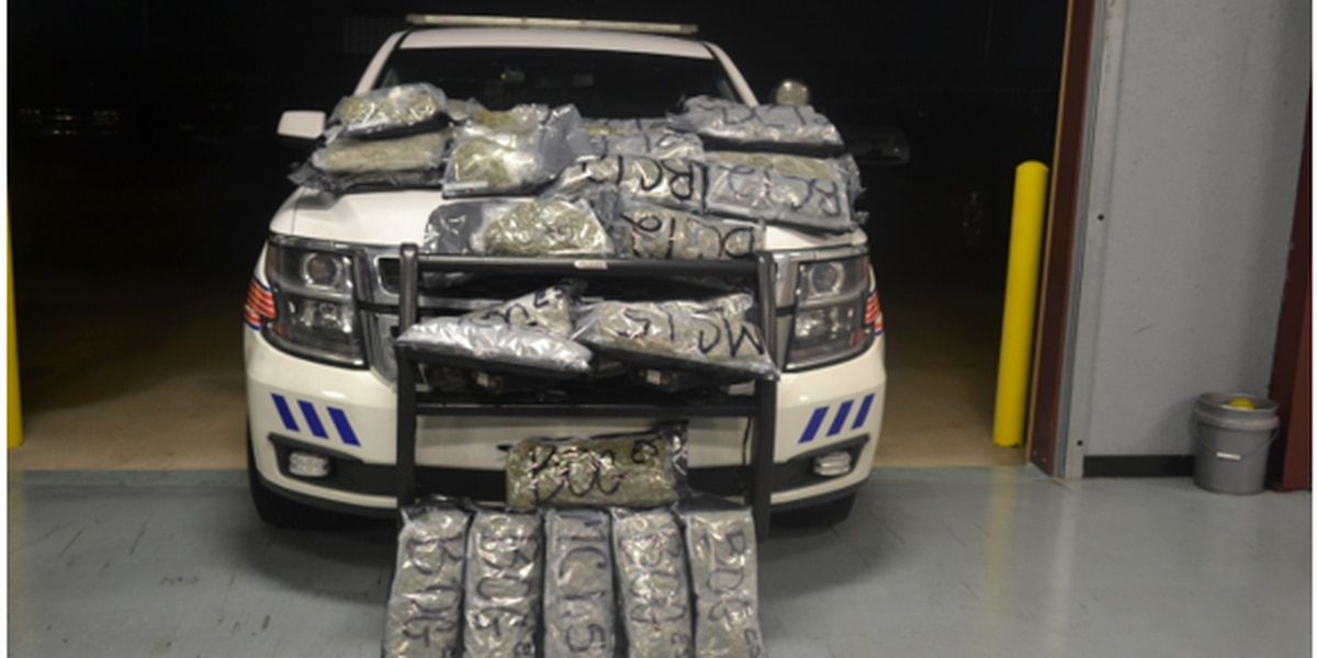 Bessemer police stop SUV packed with 80 pounds of pot