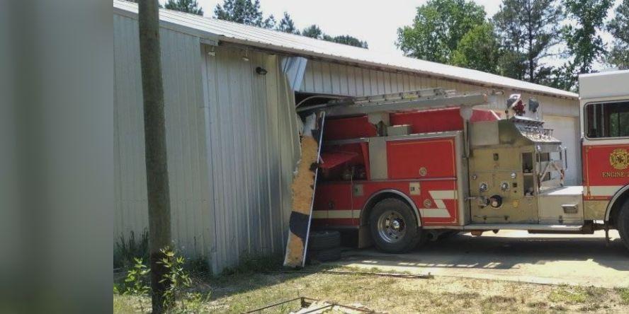 Firetruck, station damaged after fire department burglary