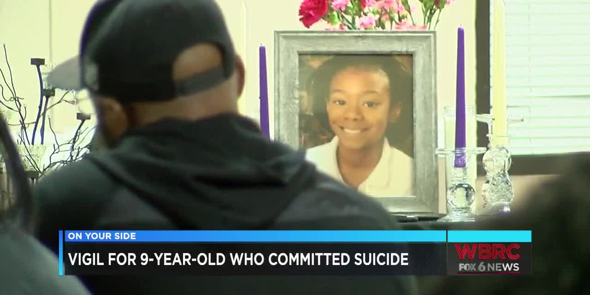 Vigil for 9-year-old who committed suicide