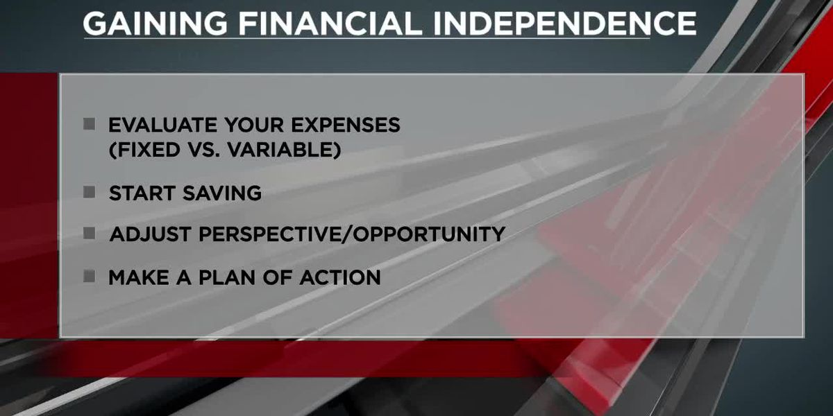 Tips for gaining financial independence