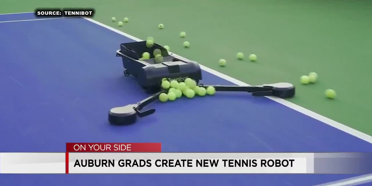 AU grads create new tennis robot