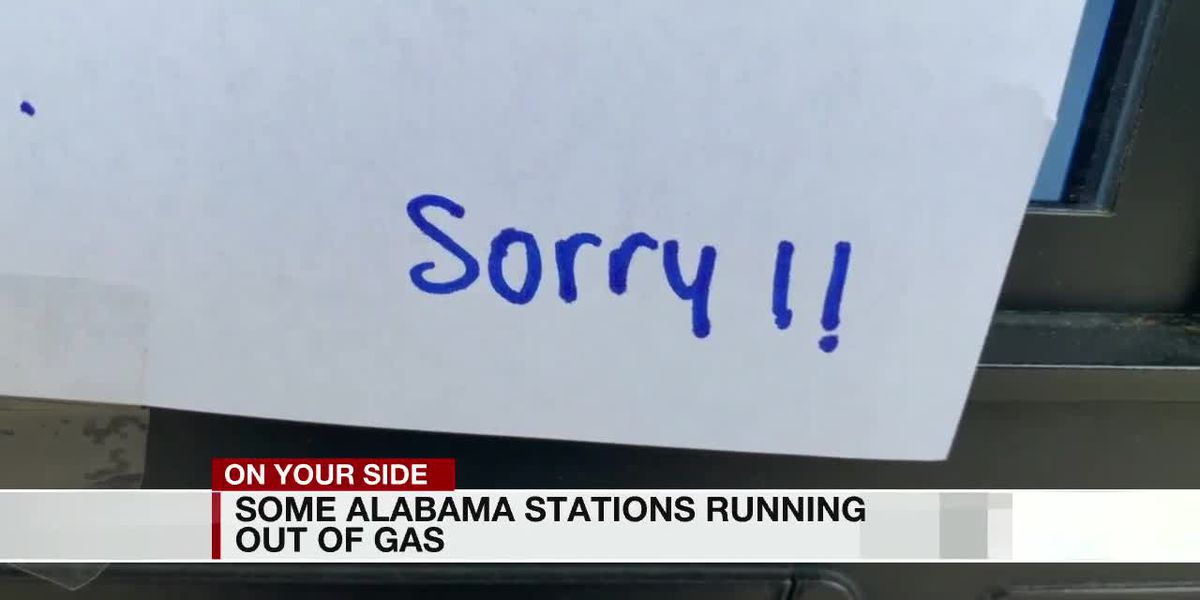 Some Alabama stations running out of gas
