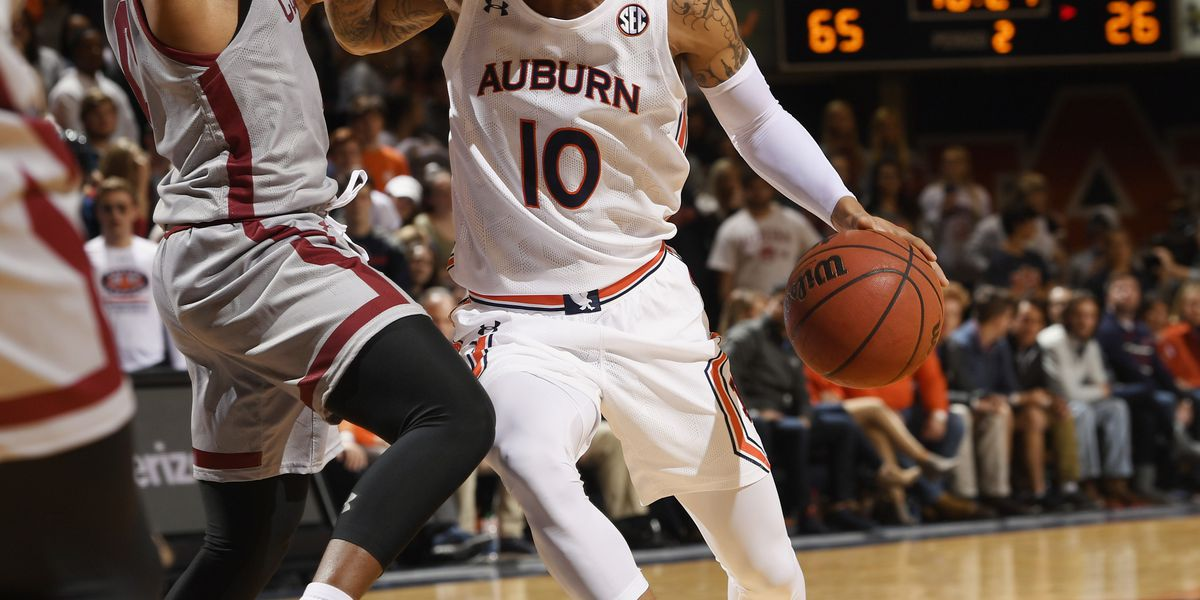 Alabama to host #4 undefeated Auburn Wednesday night in SEC Showdown