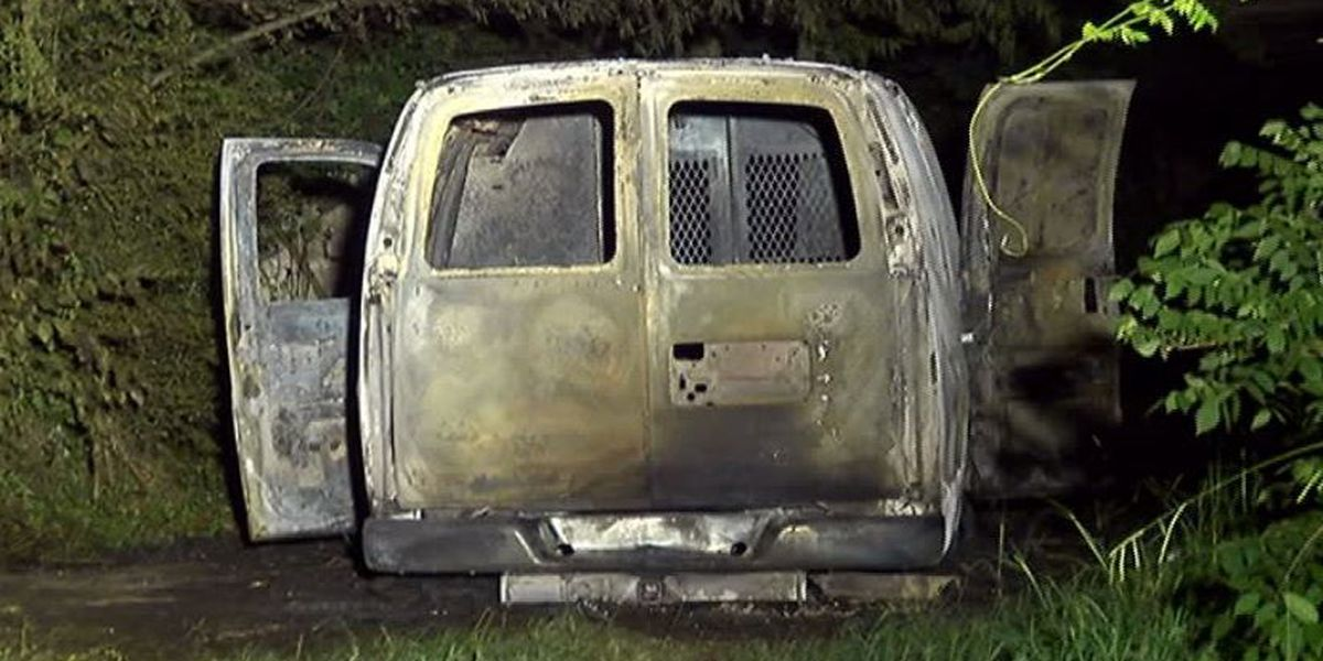 2 Bright House vans found burned in Wylam; Details at 7 a.m.