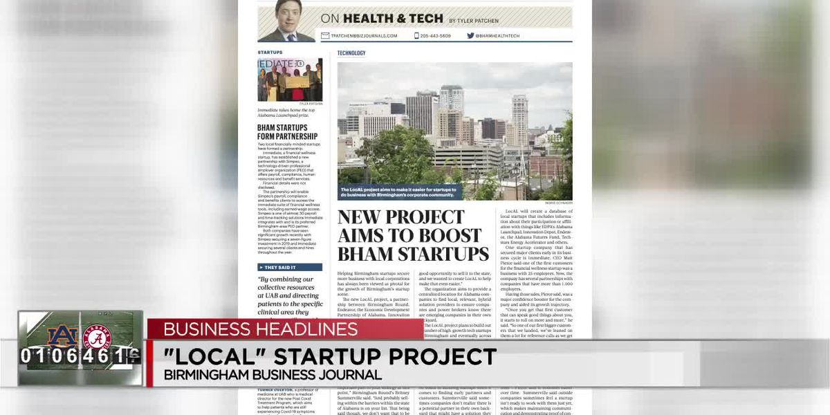 This week's top headlines from the Birmingham Business Journal
