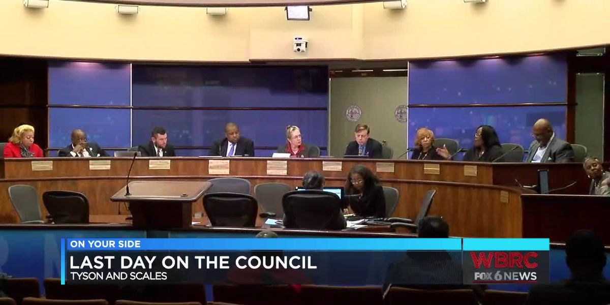 Last day on the job for 2 Birmingham city councilors