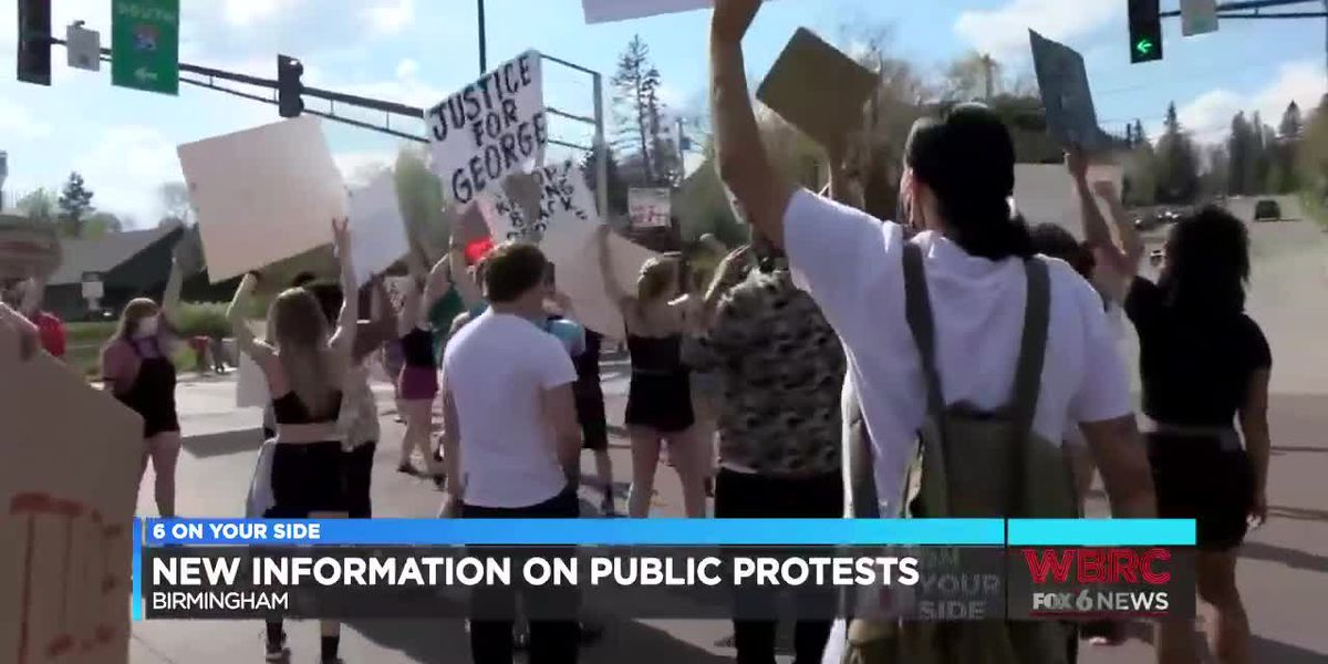 New information on public protests