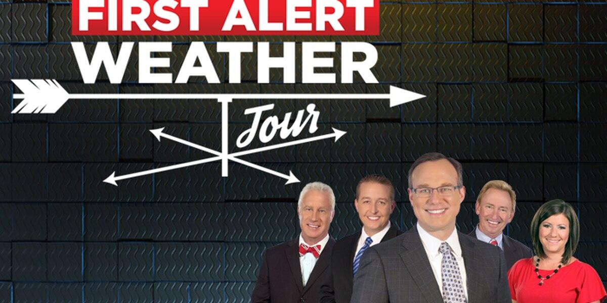 First Alert Weather Tour: Spring 2017
