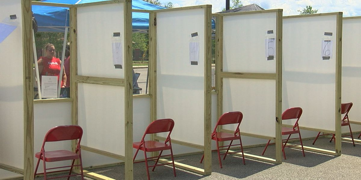 Local officials create mobile COVID-19 testing center for residents at the Housing Authority of the Birmingham District
