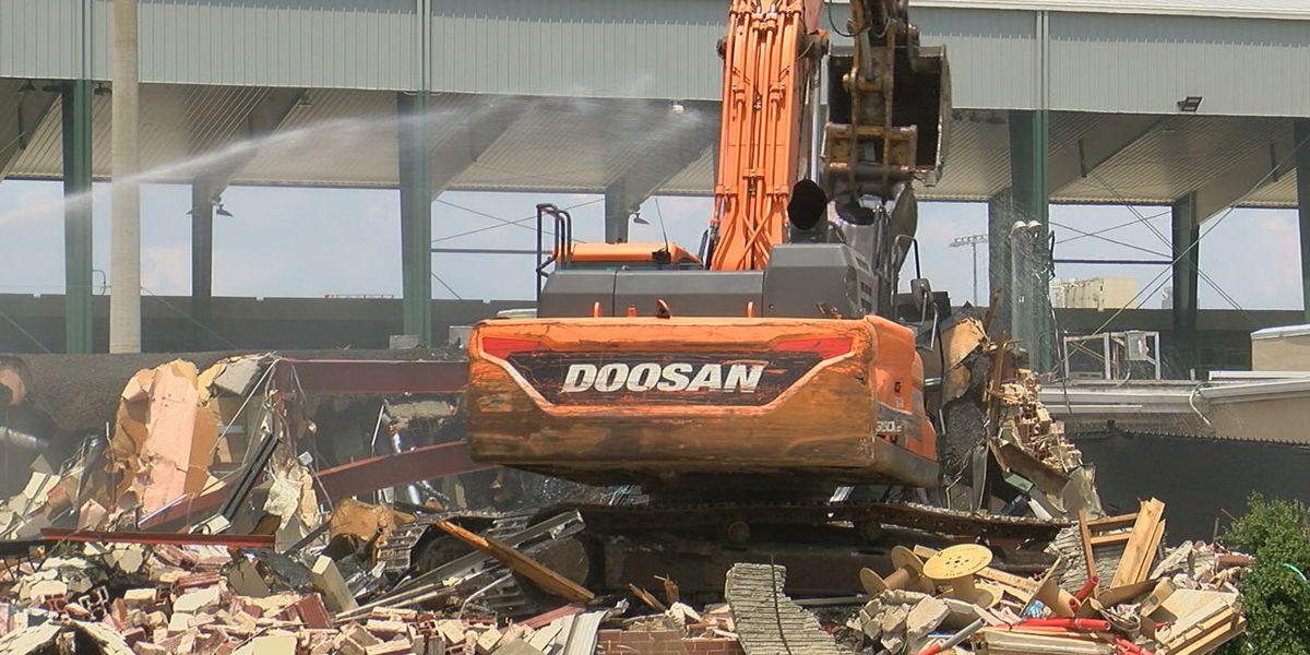 UAB tears down old locker room building