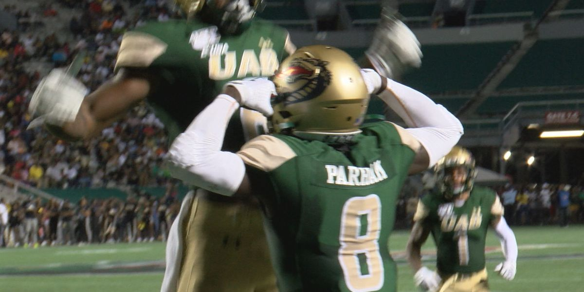 UAB beats Alabama State 24-19 in home opener