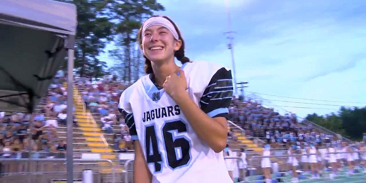 Girl kicker is the real deal at Northridge High School